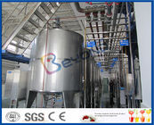 PLC Control High Standard Fruit Juice Processing Line / Fruit Juice Manufacturing Plant