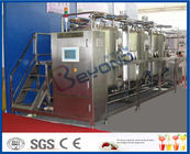10 m³/H Flow Rate 1000L CIP Cleaning System For Milk Processing Plant ISO 9001 / SGS / CE