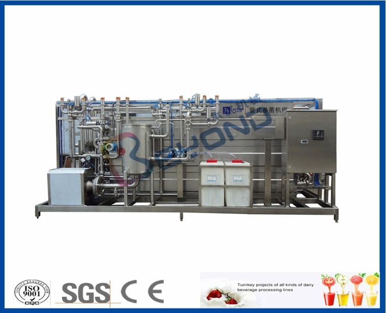 Hot Filling Sterilizer Milk Pasteurization Equipment Automatic / Semi Auto Control