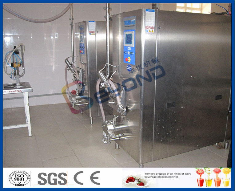 Yogurt \ Ghee \ Ice Cream Production Line Industrial Yogurt Making Machine With Cream Separator