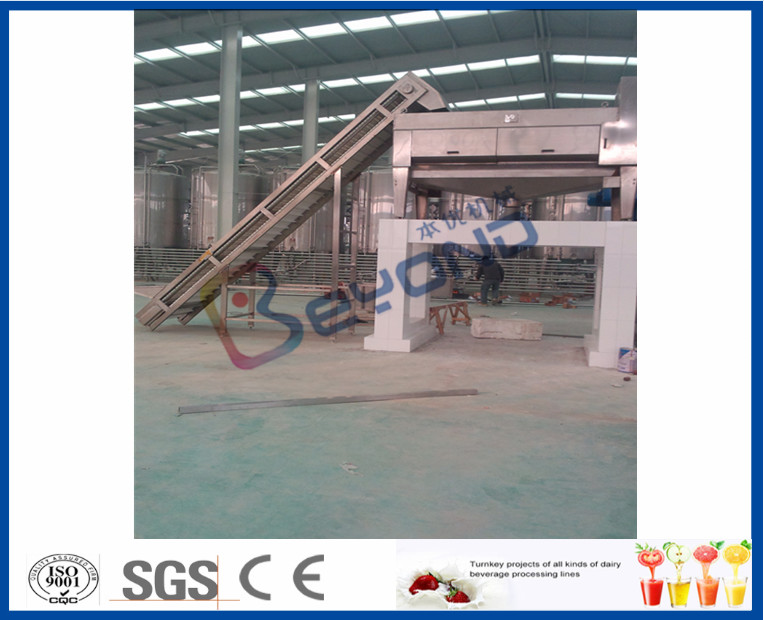 Date Liquid Syrup Manufacturing Plant , 2 - 50T/H Fruit Juice Production Line
