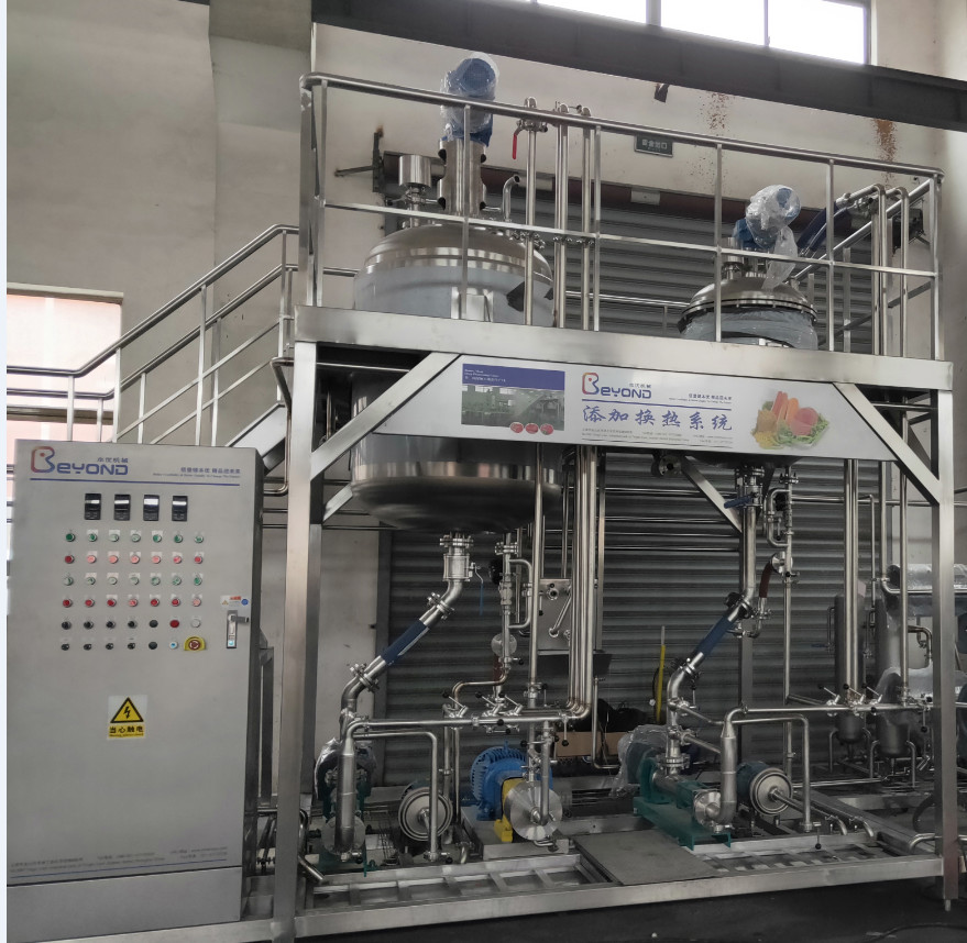 CE Certified Soup Production Line Full - Auto / Semi - Auto Meat Deep Processing