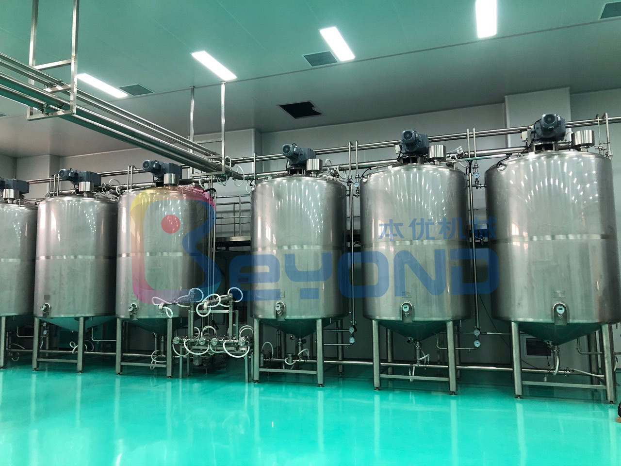 Double Layer Dairy Processing Plant Chocolate Processing Line Automatic Temperature Control