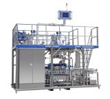500L Full Auto Herb Plant Extraction Machine 100KW Water Steam Sterilizing